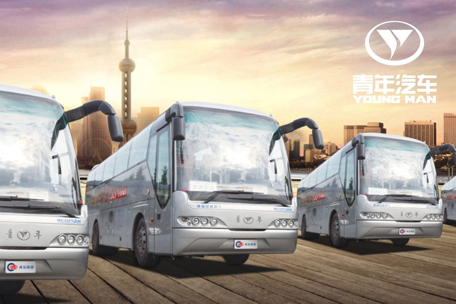 30座青年牌旅游客车