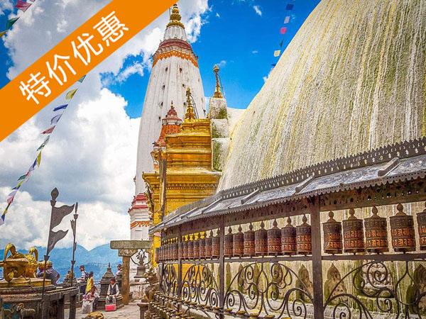 加德满都-博卡拉六日尼泊尔精品旅行:加德满都世界遗产+博卡拉湖光山色!